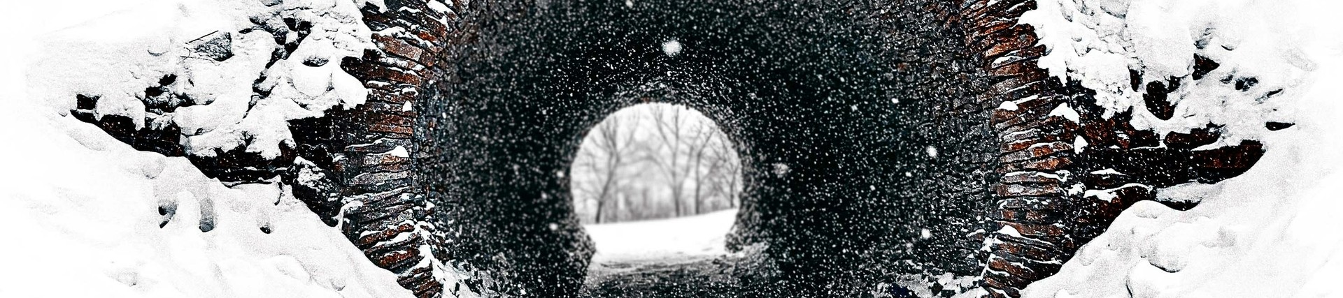Image of a tunnel in the snow